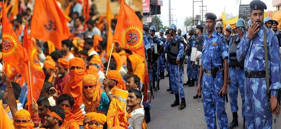 Ayodhya Turns Fortress As Shiv Sena, VHP's Ram Temple Events Begin Today
