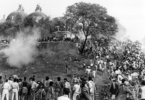 Babri Masjid demolition file photo (1992) Credit- T. NARAYAN