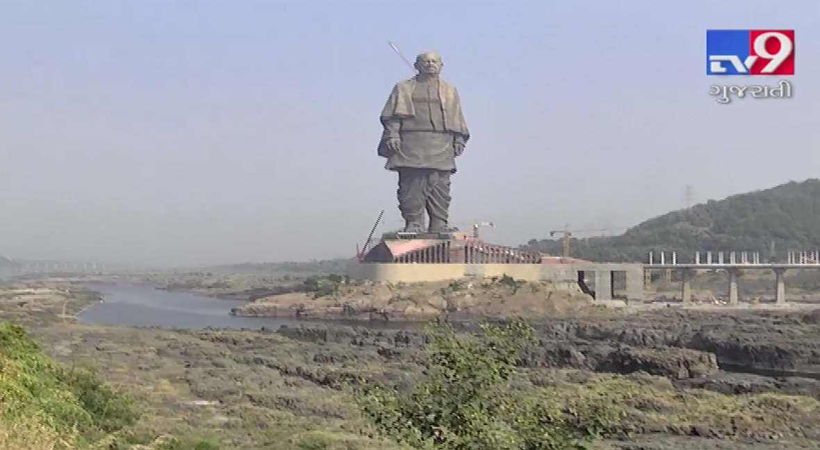 Statue of Unity_ Tv9