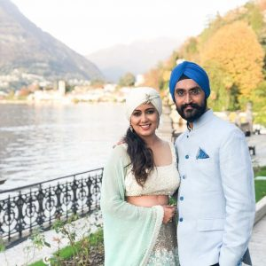 Harshdeep Kaur at Lake Como