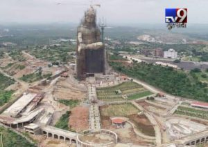 Construction of Shiv ji Statue