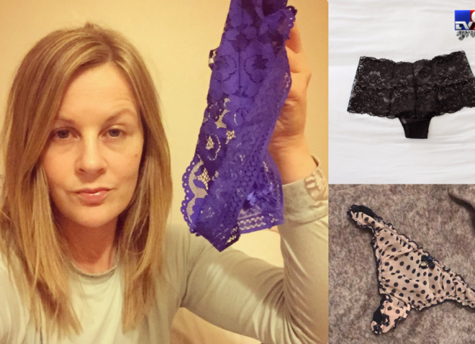Women are sharing pictures of their underwear on social media