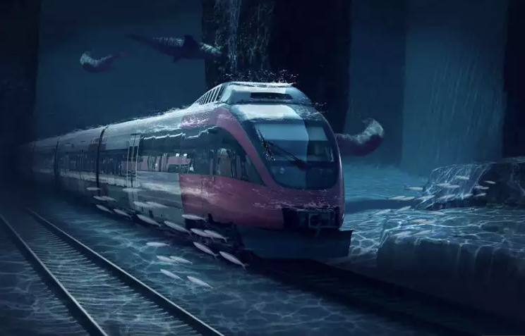 Mumbai to Dubai Underwater Train