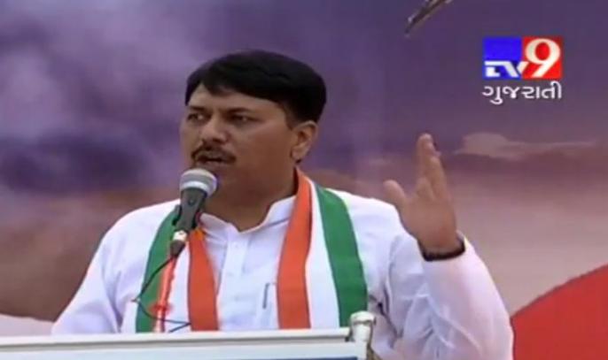 Gujarat Congress chief Amit Chavda reached Jambudi, to hold meeting with MLAs Congress pradesh pramukh amit chavda rajsthan na wild wind resort pohchya tamam MLAs sathe betahk karse