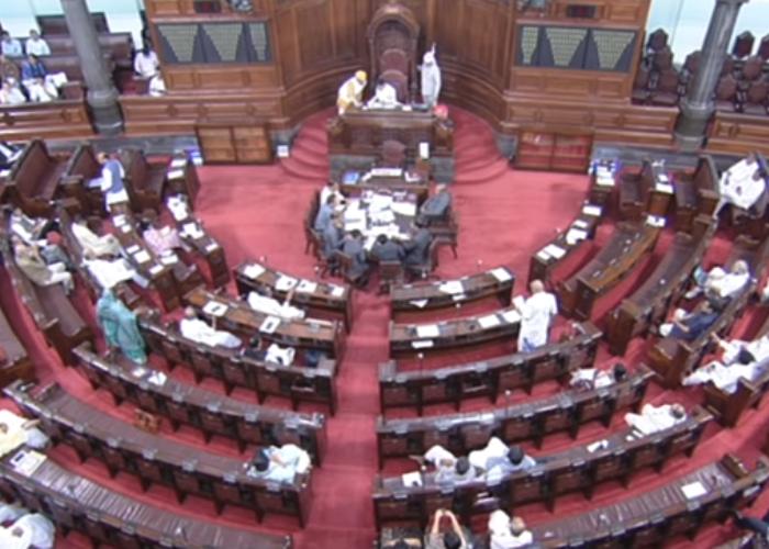 Rajya Sabha secretariat begins oath preparations Rajyasabha mate nirvirodh chuntayela sansado no shapthgrahan karyakarm aagami 4 ke 5 june yojayi shake