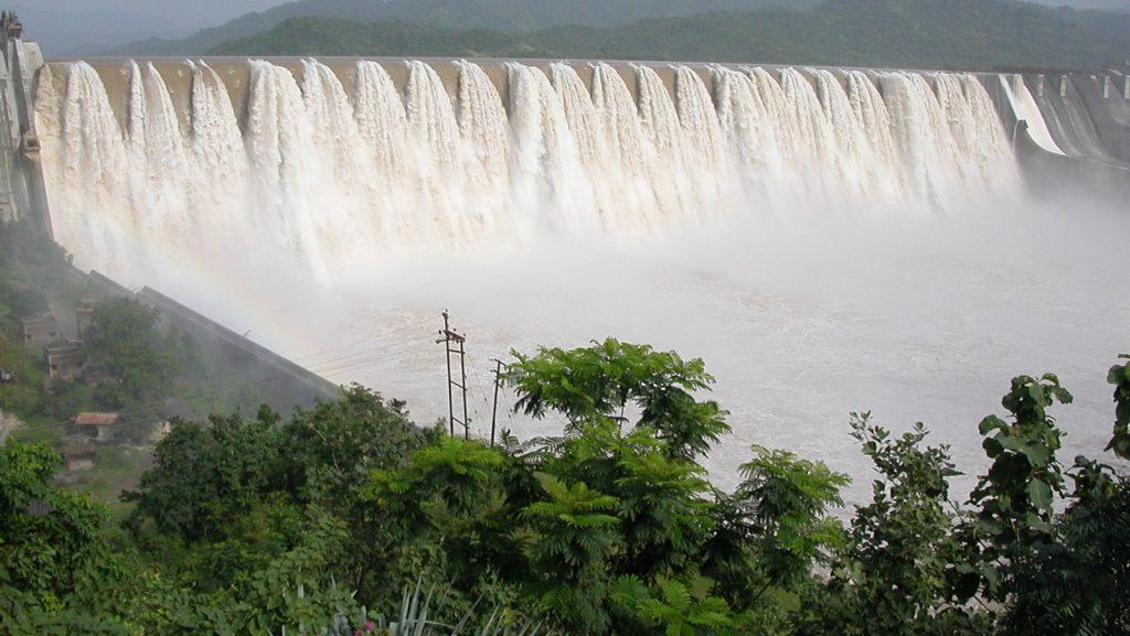 Water level of Narmada dam rises to 133.02 m