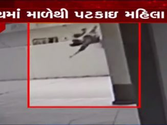 Woman died after falling from 5th floor of residential building in Vadodara