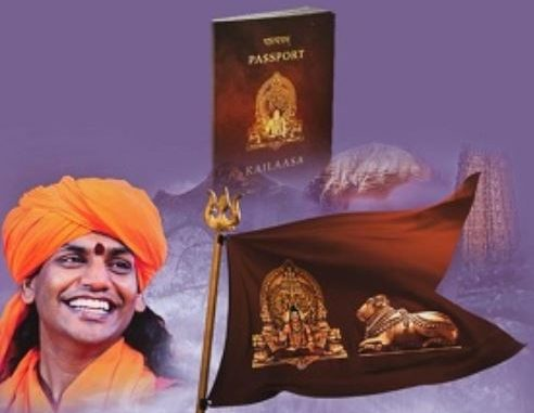 Rape-accused self-styled godman Nithyananda has started his own nation after purchasing private island from Ecuador bhagedu nithyananda vasvyo kailasha nama no potano alag desh