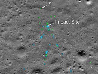 NASA finds Chandrayaan-2's Vikram Lander on Moon, releases images of site chandra ni sapati par vikram lander ne shodhi leva ma aavyu NASA ae tasvir jaher kari