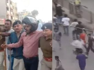 Anti-CAA protest in Shah-e-Alam area, Protesters pelted stones on Police van | Ahmedabad - Tv9