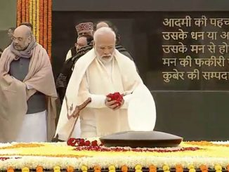 PM Modi, LK Advani among other political big wings paid tribute to Vajpayee on his birth anniversary