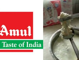 Wrong video of Amul company being plastic in milk, FIR registered in police amul company na khota video ne laine nondhai fariyaad
