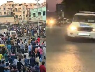 Anti-CAA protest in Shah-e-Alam area, police brought situation under control | Ahmedabad - Tv9