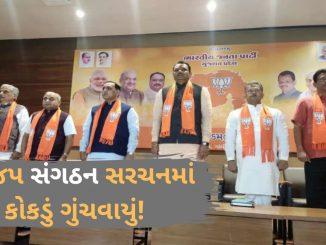 BJP Sangathan ni rachnama vilamb maharashtra na result ni gujarat par asar