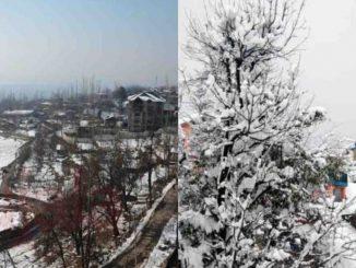 jammu and kashmir weather minus 5 degree temprature in sree nagar