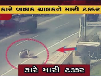 On cam: Speeding car hits bike, rider flung in the air in Vasai