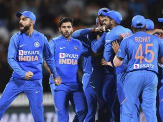 nz vs ind 3rd t20 rohit sharma said mohammad shami gave us the victory Ind vs NZ 3rd T20 Rohit sharma e kahyu ke mari sixer e nahi aa kheladi e India ni team ne jit aapavi