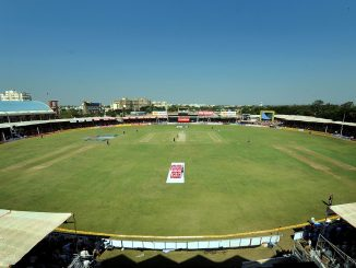 Rajkot :Cricket ground being dug up for cultural program celebration, Oppn hits out at authority