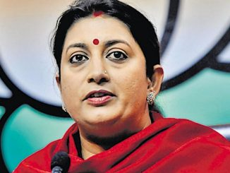 JNU students, you should learn 'Constructive Nation Building' skill frm Surat youths :Smriti Irani JNU na students e surat na yuvano pasethi shikh levi joie smriti irani