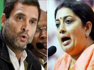 Union Minister Smriti Irani hits out at Rahul Gandhi over CAA