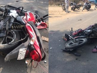 Ahmedabad Kite string caused crash between two bikes in Vastral, 1 died ahmedabad gada ma dori aavi jata 2 bike ni samsame takkar 1 vyakti nu gatnasthdej moj