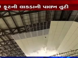 Vadodara: 40 ft long scaffolding collapses on Akota Dandia Bazar Bridge, 3 injured
