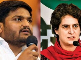 hardik patel arrest congress general secretary priyanka gandhi vadra congress mahasachiv priyanka gandhi e hardik patel ni dharpakad mamle BJP par karya aakshep