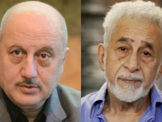 Anupam Kher hits back at Naseeruddin Shah's 'clown' comment bollywood actor anupam kher ane Naseeruddin Shah vache CAA mudde shabdik jung
