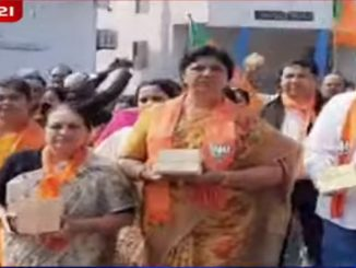 Vadoara mayor, MPs among other BJP leaders take out rally in support of CAA