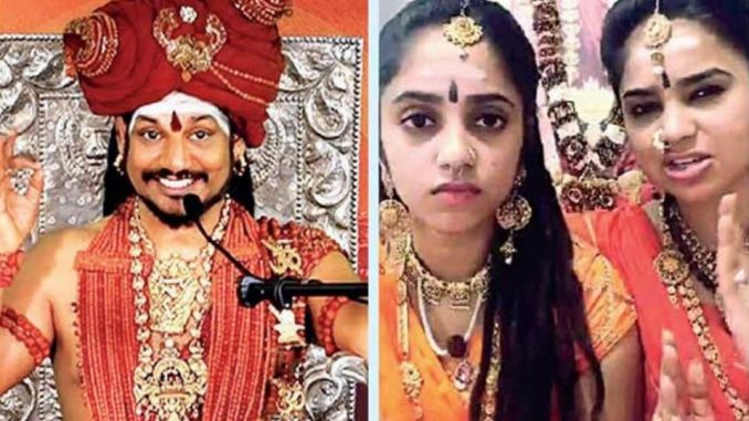 Nithyananda ashram controversy : Cherge sheet filed against Pran Priya and Priya Tatva