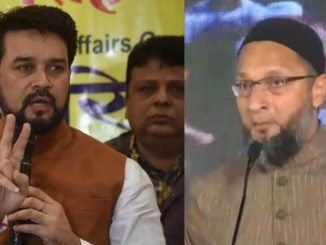 Asaduddin Owaisi challenges Anurag Thakur over His Goli Maro remark says Shoot Me