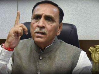 Gujarat CM Rupani says AAP Congress misled Delhi incited anti CAA protests