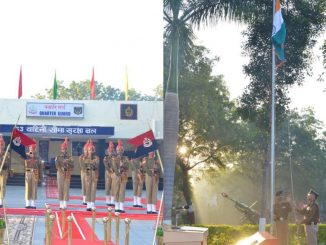 71st Republic Day celebrated at BSF headquarters, Gandhinagar | Tv9GujaratiNews