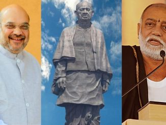 In the Virpur Katha Moraribapu compared Sardar Patel to Amit Shah
