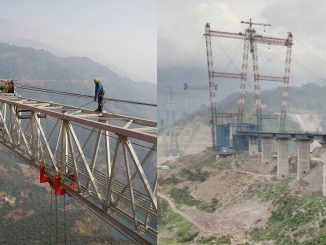 world highest railway bridge in kashmir chenab bridge