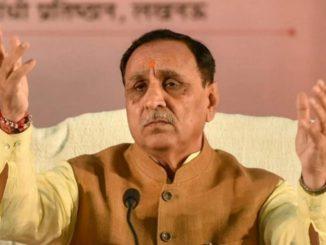 CM Vijay Rupani maintains silence over helmet compulsion in Gujarat