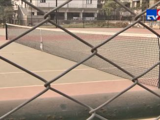 AMC spent crores on Tennis Court, yet in poor condition | Ahmedabad - Tv9