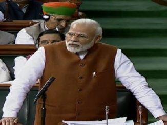 PM Narendra Modi invokes Mahatma Gandhi, says Bapu is our life sansad ma PM Modi e vipaksh par humlo karta kahyu ke tamara mate gandhiji trailer, aamara mate jindgi