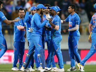 IND vs NZ T20 Match NZ ne whitewash kari Indian team e 5-0 thi series jiti