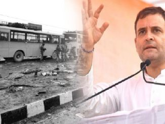 Who benefited from the Pulwama attack?Rahul Gandhi asks 3 questions on the terror attack anniversary rahul gandhi e twitter par pulwama humla ne lai uthavya saval BJP Sambit patra e karyo palatvar