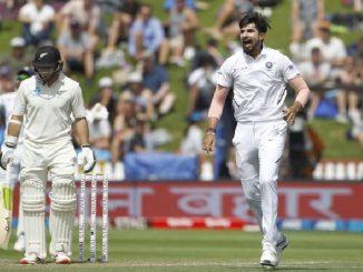 india vs new zealand 1st test day 2 wellington ind vs nz 1st test match bija divas e India ne male 5 wickets NZ 51 Runs thi aagal