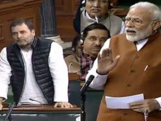 PM Modi took a jibe at Rahul Gandhi over his remark that 'you will beat PM with sticks in 6 months' Rahul Gandhi na PM Modi ne yuvano danda thi marse nivedan par PM e aapyo kaik aavo javab