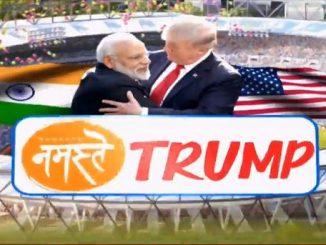 India awaits your arrival President Donald Trump, tweets PM Modi donald trump na aagman pehla PM Modi e karyu tweet kahyu ke tamara aagman nu bharat rah joi rahyu che