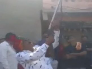 Patan BJP leader RK Thakor fires celebratory shots in air video goes viral
