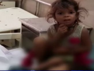 Shame on humanity 3 yrs old abandoned after parents death Bharuch
