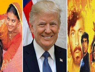 trump-praise-bollywood-movies-specially-mention-shahrukh-khan-film-ddlj-in-motera-stadium