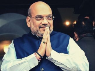 Union HM Amit Shah reached Ahmedabad airport, to review security arrangements for Modi-Trump meet ahmedabad HM Amit shah nu airport par aagman Namaste Trump karyakram ne lai CM ane Pradipsinh Jadeja sathe bethak karse