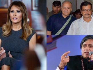 melania-trump-event-delhi-school-arvind-kejriwal-manish-sisodia-shashi-tharoor-petty-politics
