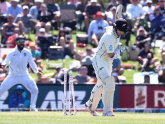 IND vs NZ 2nd Test newzeland ni team 235 run par all out India 7 run thi aagad