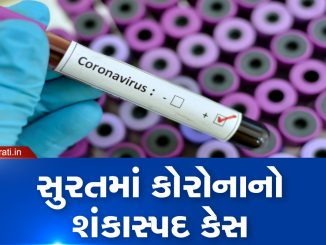 Suspected coronavirus case reported in Surat